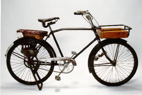 Old Bike Advert Urban Simplicty