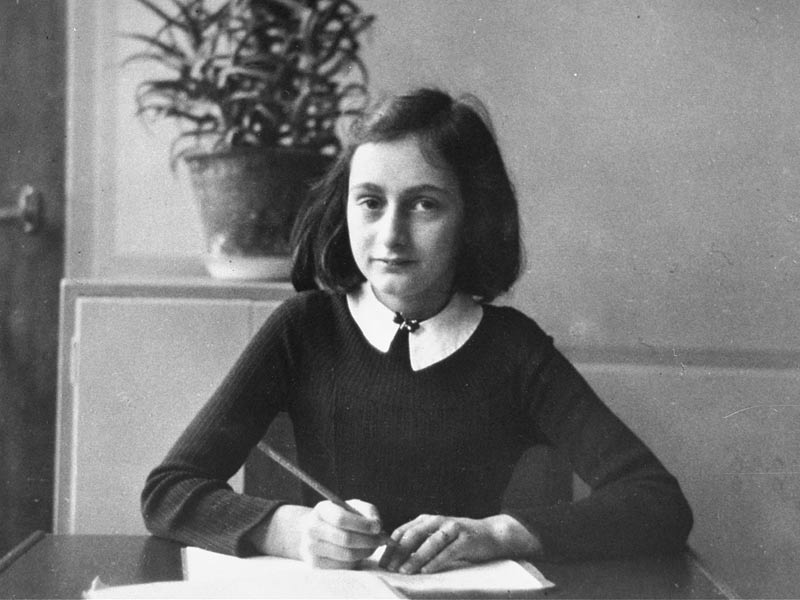 Anne frank quote speaking
