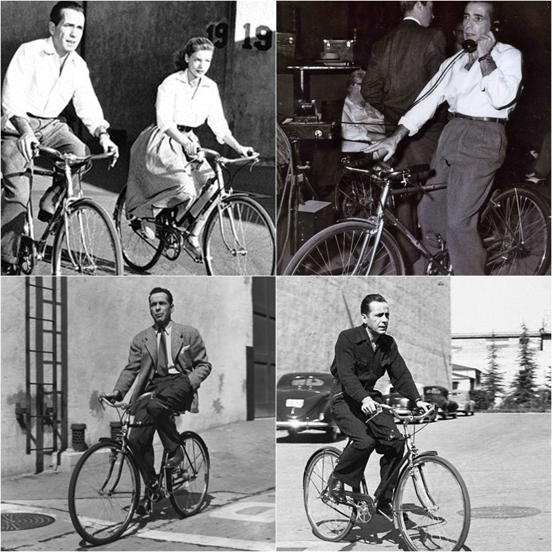 Famous People On Bikes Urban Simplicty